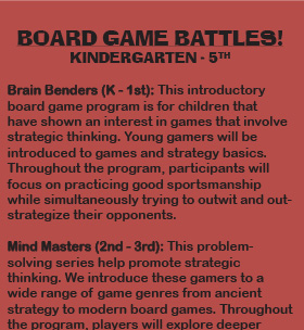 Enrichment-Board Game Battles