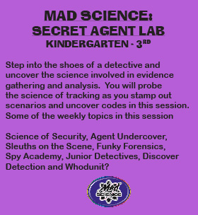 Enrichment-Mad Science-Secret Agent-80
